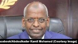 Abdoulkader Kamil joint par Idriss Fall
