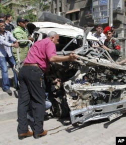 Damashqdagi portlash, 5-may, 2012-yil
