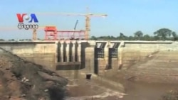 Hydro-Electricity Dam on Atay River in Pursat Collapsed