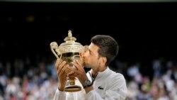 Wimbledon အမ်ိဳးသားတင္းနစ္ Djokovic ၅ ႀကိမ္ေျမာက္ ဗိုလ္စြဲ