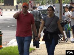 Chicago pharmacist Hiba Cheetany with Michael Trnka, also of Illinois.