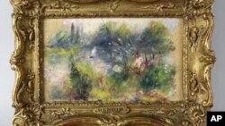 Bức tranh của danh họa người Pháp trường phái ấn tượng Pierre Renoir đã được một phụ nữ mua ở chợ đồ cũ cùng với vài món khác với giá 7 đôla