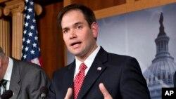 Le sénateur Marco Rubio, une étoile montante dans le Parti républicain
