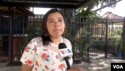 Daliana Ocaña, periodista de 100% Noticias [Foto: Donaldo Hernández]
