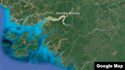 L'archipel d'Afrique de l'Ouest, Bijagos, qui compte 88 îles, en Guinée-Bissau.