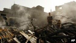 2008 yılının sonuna doğru İsrail'in Gazze'ye yaptığı saldırada binlerce Filistinli öldü