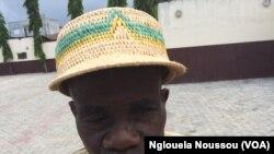 Jean Denis Toutou Ngamiye de la Lékoumou exprimant sa déception, Pointe-Noire, Congo, 7 novembre 2017. (VOA/Nglouela Noussou)