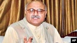 صوبائی وزیر اطلاعات میاں افتخار حسین