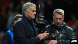 Jose Mourinho, alors entraîneur de Manchester United, le 2 octobre 2018.