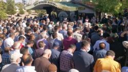 Funeral of the Kurdish family murdered in Konya