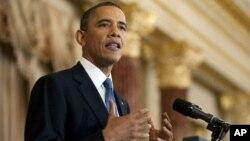 باراک اوباما، رئیس جمهور ایالات متحده امریکا