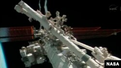 Stasiun Antariksa Internasional (ISS) (foto: NASA).