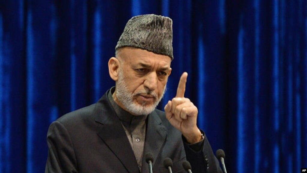 حامد کرزی، رئیس جمهور پیشین از حکومت افغانستان خواسته که با این اقدام احتمالی مخالفت خود را اعلام کند.