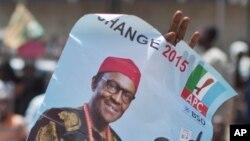 Fastar Buhari a Zaben 2015 a Najeriya, Maris