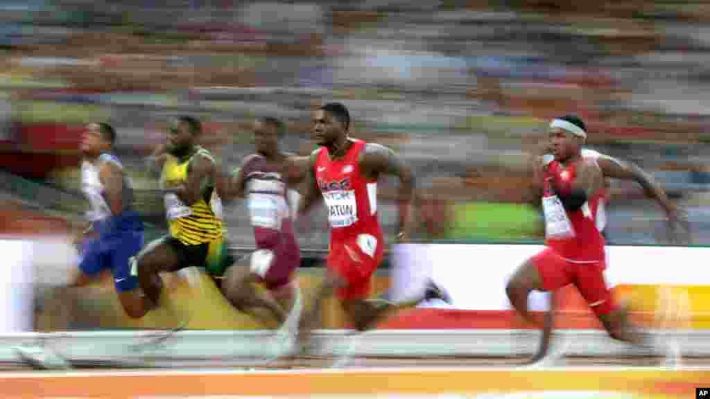 APTOPIX China Athletics Worlds