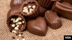 Coklat seperti ini tak hanya menggiurkan, tapi ternyata juga baik bagi kesehatan jantung Anda.