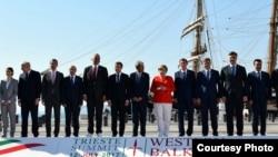 Summit Western Balkans Trieste 12-07-2017
