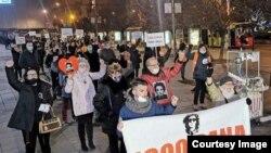 Mirna šetnja članova grupe 'Pravda za Davida' (Facebook grupa Pravda za Davida)