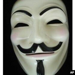 被临沂警方暂扣的同样面具