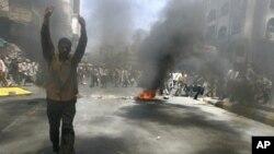 یمن: مظاہرین پر سیکیورٹی فورسز کی فائرنگ ،30 افراد زخمی