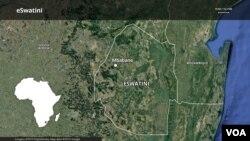 eSwatini map