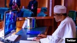 Shugaba Buhari (Twitter/ Muhammadu Buhari)