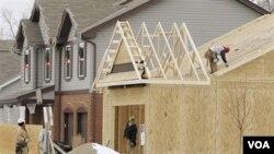 Di beberapa kota AS, permintaan akan rumah baru mengalami kenaikan, didorong harga rumah yang masih rendah.