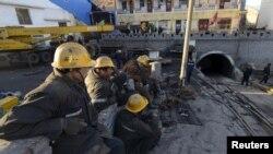 Bencana tambang batubara di Datong, provinsi Shanxi, China