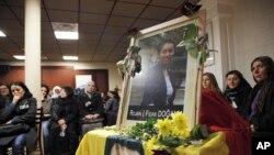 Ảnh của bà Frida Dogan, một trong 3 người bị sát hại trong trung tâm văn hóa Kurd ở Paris, 10/1/13