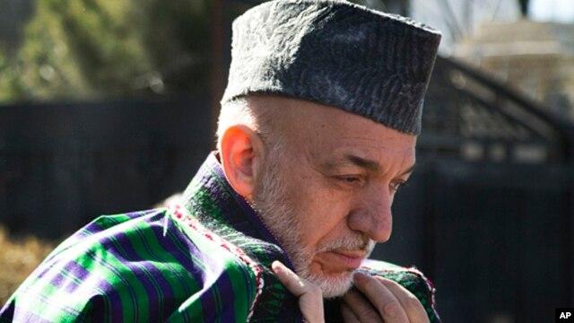 Afghan President Hamid Karzai, March 6, 2013.