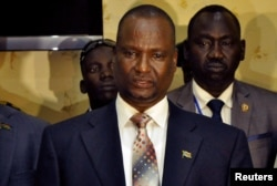 FILE - Taban Deng Gai is leading a delegation from South Sudan that is visiting Khartoum this week.