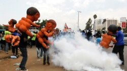 Kenya Police Break Up Protest, Accuse US of Funding Activists