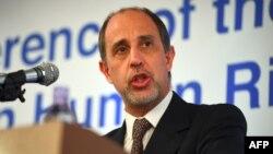 Ông Tomas Ojea Quintana, báo cáo viên đặc biệt của Liên Hiệp Quốc về Triều Tiên.