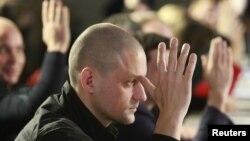 Сергей Удальцов на заседании Координационного Совета оппозиции. 27 октября 2012г.