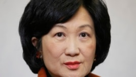 FILE - Regina Ip, former Hong Kong Secretary for Security.
