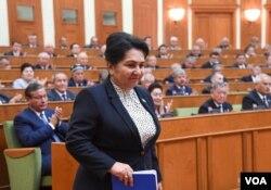 Senator va Senat raisi Tanzila Norboyeva