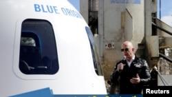 Jeff Bezos's Blue Origin