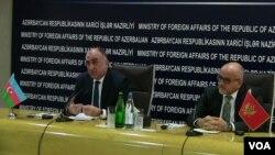 Elmar Məmmədyarov və Srcan Darmanoviç