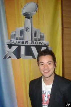 Ikuma Isaac, a reporter for NTV