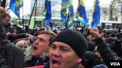 Demonstracije u Kijevu i dalje u toku