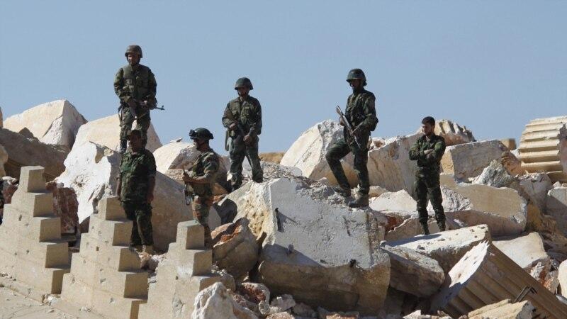 د سوریې پوځ وايي د دمشق له ځینو سیمو یې یاغیان وشړل