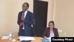 Fidele Ndayisaba, umunyamabanga nshingwabikorwa wa Komisiyo y'ubumwe n'ubwiyunge