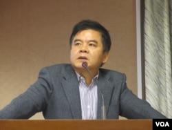 台灣在野黨民進黨立委莊瑞雄(美國之音張永泰拍攝)