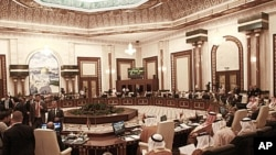 아랍연맹 외무장관 회의(자료사진)