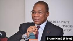 Bruno Koné, porte-parole du gouvernement ivoirien.