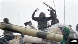 Танковые экипажи войск Каддафи