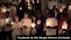 Vigília em Angola pede libertação de activistas