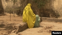 A woman who told Amnesty International that she was abused by the Nigerian army during its fight against Islamist insurgency Boko Haram is pictured in Maiduguri, Nigieria in Feb. 18, 2017, in a photo supplied by Amnesty International.