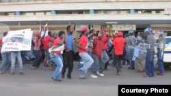 MDC-T national Youth Wing spokesperson, Clifford Hlatswayo, says the youths have lined up a number of protests, in an attempt to force the ruling party to fulfill its election promise. (File Photo)
