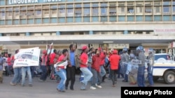MDC-T national youth spokesperson, Clifford Hlatshwayo, condemned what he said was the police's heavy-handedness in dealing with the demonstrators. (File Photo)